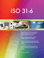 ISO 31-6 Standard Requirements