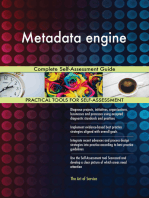 Metadata engine Complete Self-Assessment Guide