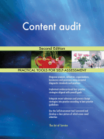 Content audit Second Edition