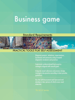 Business game Standard Requirements
