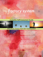 Factory system Complete Self-Assessment Guide
