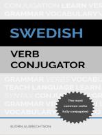 Swedish Verb Conjugator