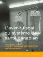 L' Avenir fiscal du système de santé canadien