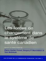 Les Forces de changement dans le système de santé canadien