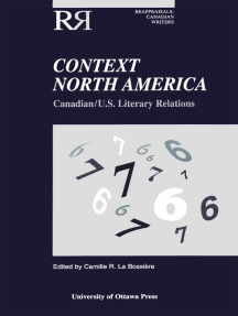 Context North America: Canadian-U.S. Literary Relations