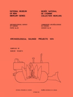 Archaeological Salvage Projects, 1974