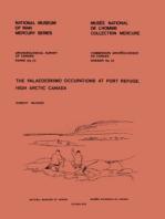 Palaeoeskimo Occupations at Port Refuge, High Arctic Canada