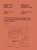Report on the Banting and Hussey Sites