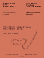 Archaeological Survey of Canada Annual Reviews, 1977-1979