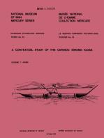 A contextual study of the Caribou Eskimo kayak