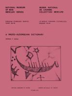 proto-Algonquian dictionary