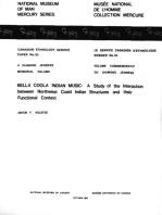 Bella Coola Indian music