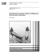 Inuit kayaks in Canada