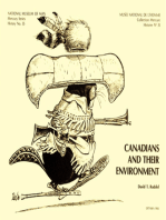Canadians and their environment