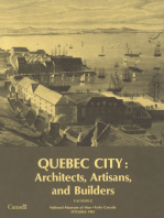 Quebec City: Architects, artisans, and builders