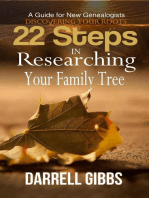 22 Steps in Researching Your Family Tree
