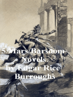 5 Mars / Barsoom novels