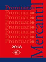 Prontuario Mercantil 2018