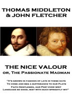 The Nice Valour or, The Passionate Madman
