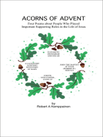Acorns of Advent- Four Poems about People Who Played Important Supporting Roles in the Life of Jesus