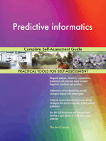 Predictive informatics Complete Self-Assessment Guide