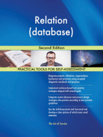 Relation (database) Second Edition