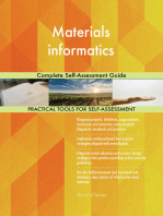Materials informatics Complete Self-Assessment Guide