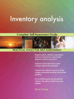 Inventory analysis Complete Self-Assessment Guide