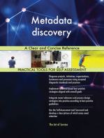 Metadata discovery A Clear and Concise Reference