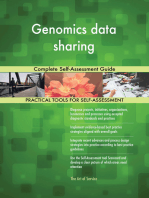 Genomics data sharing Complete Self-Assessment Guide