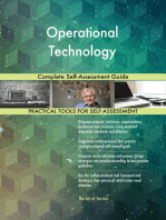 Operational Technology Complete Self-Assessment Guide