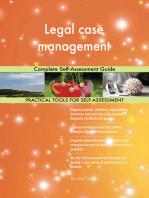 Legal case management Complete Self-Assessment Guide