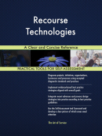 Recourse Technologies A Clear and Concise Reference