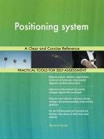 Positioning system A Clear and Concise Reference