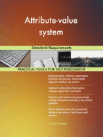 Attribute-value system Standard Requirements