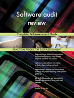 Software audit review Complete Self-Assessment Guide