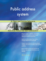 Public address system A Clear and Concise Reference