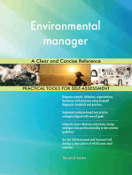 Environmental manager A Clear and Concise Reference