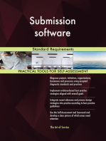 Submission software Standard Requirements