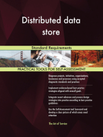 Distributed data store Standard Requirements