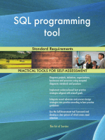 SQL programming tool Standard Requirements