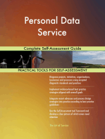 Personal Data Service Complete Self-Assessment Guide