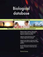 Biological database Standard Requirements