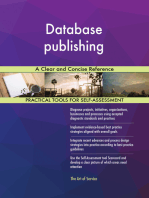 Database publishing A Clear and Concise Reference