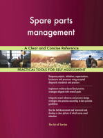 Spare parts management A Clear and Concise Reference