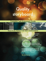 Quality storyboard Complete Self-Assessment Guide