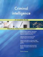 Criminal intelligence A Complete Guide