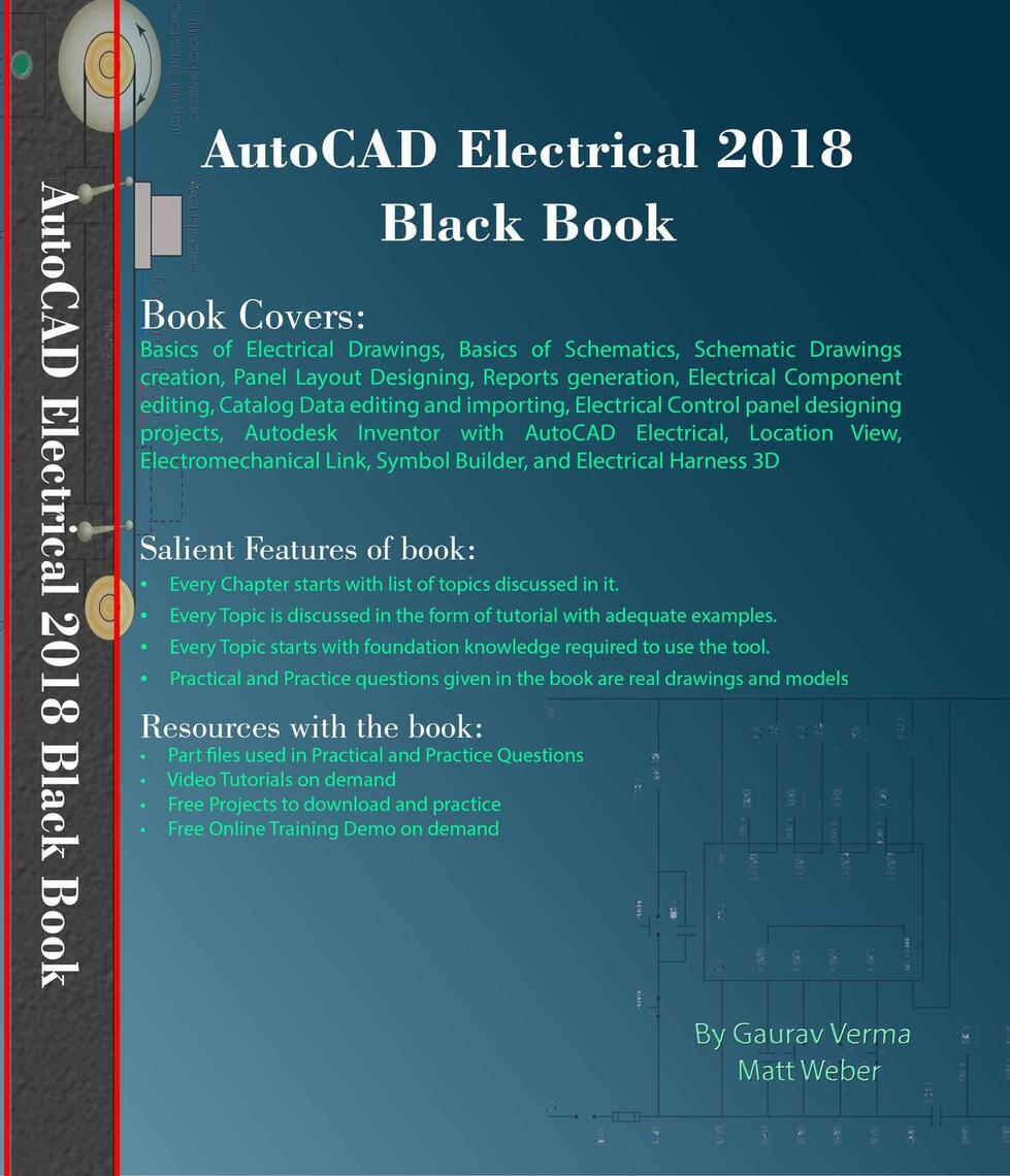 AutoCAD Electrical 2018 Black Book by Gaurav Verma and Matt Weber by ...
