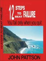 12 Steps To Beat Failure