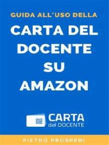 Guida all'uso della Carta del Docente su Amazon